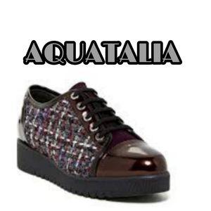 Aquatalia by Marvin K Ada tweed casual shoes